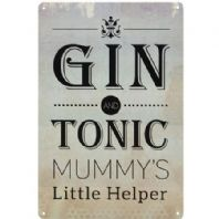 Gin & Tonic Metal Sign